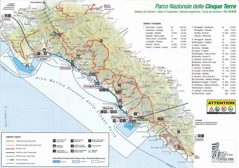 Italy Map Cinque Terre.Cinque Terre Map Archives Cinque Terre Tours